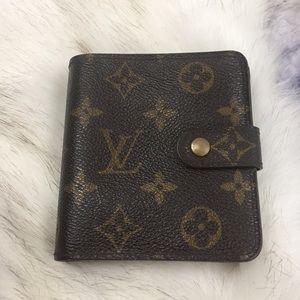 Louis Vuitton 4x4 snap front /zip walletVintage